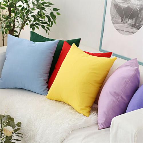 2 Color Cushion Cover Indoor Case
