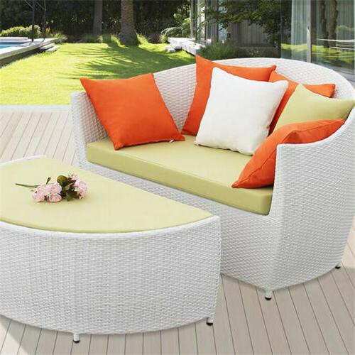 2 Waterproof Solid Cushion Cover Outdoor Sofa Car Throw